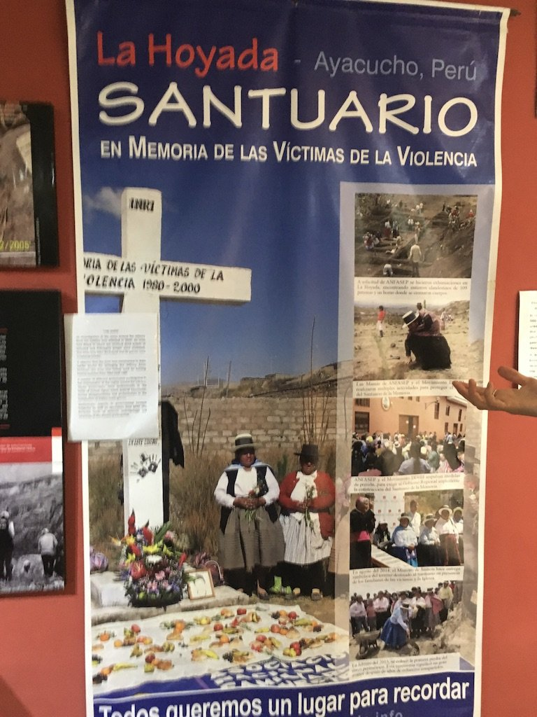 Ayacucho Memory Museum, ANFASEP (Organisation of family members of the disappeared) 3