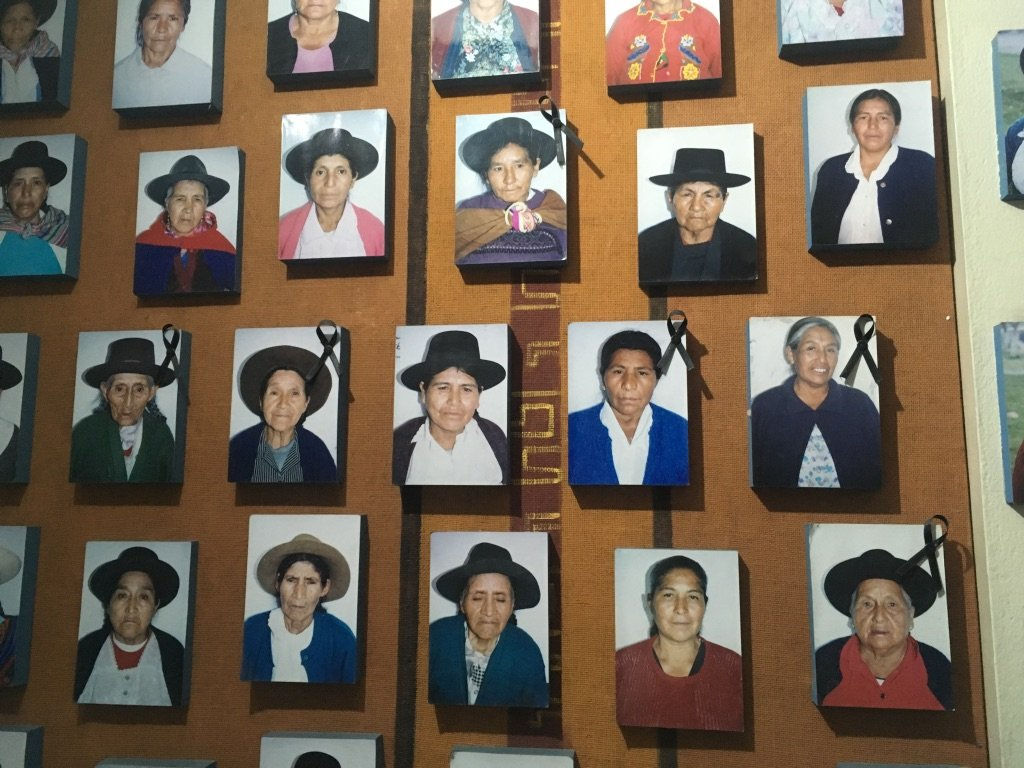 Ayacucho Memory Museum, ANFASEP (Organisation of family members of the disappeared) 4