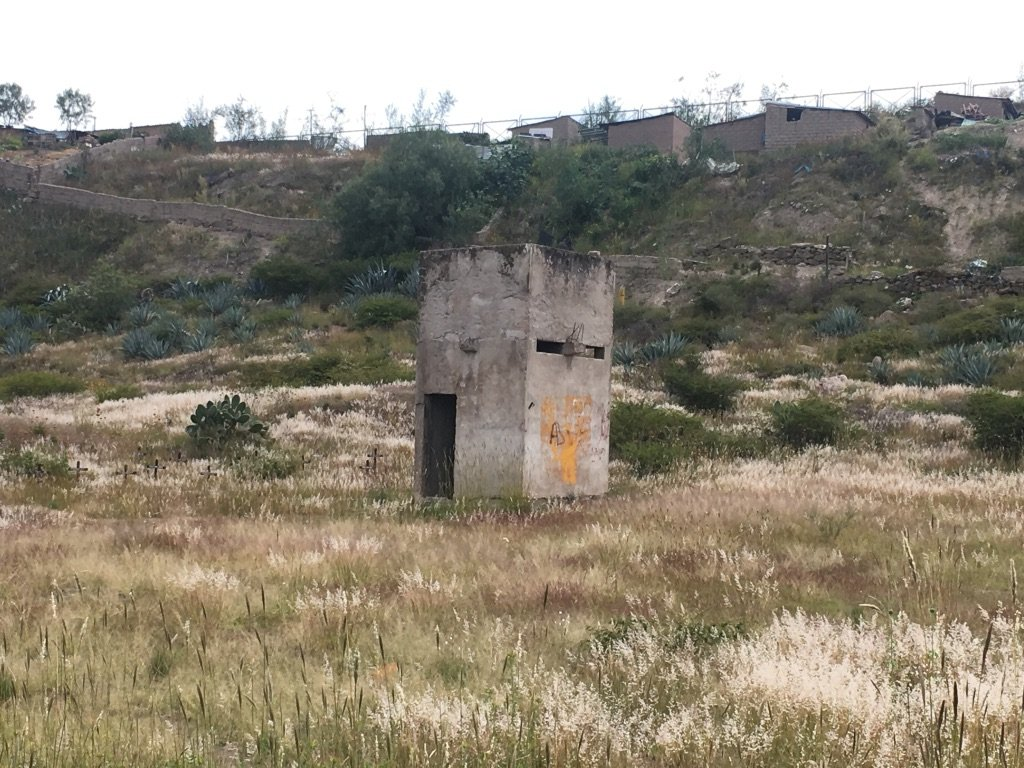 La Hoyada, Ayacucho, furnace used for the crematorium used by the military
